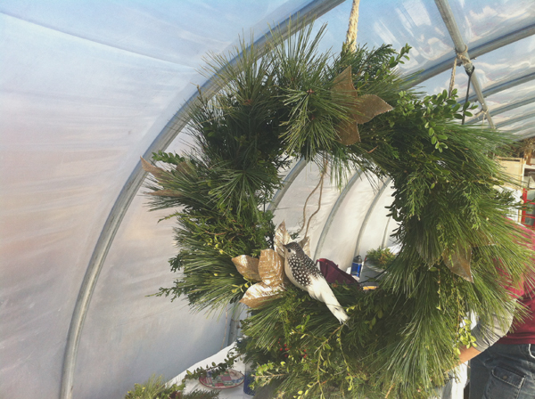 Wreath Making at Faella Farm