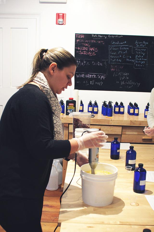 Newport Sea Foam Soap Making
