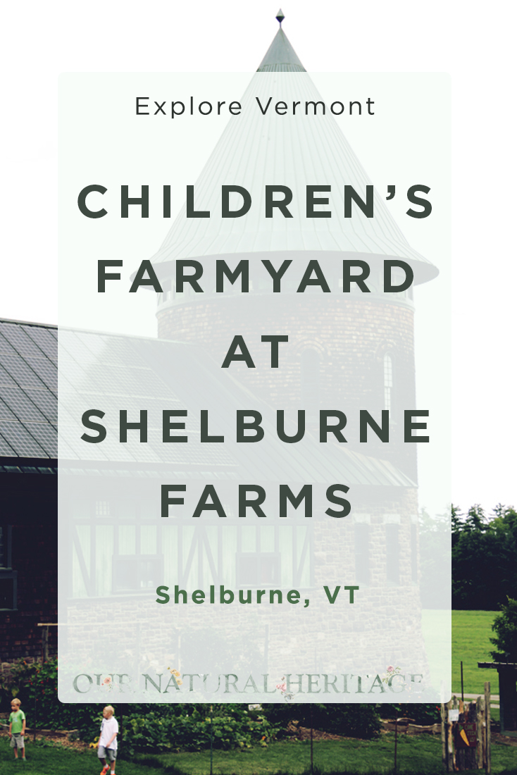 Exploring the Children's Farmyard at Shelburne Farms