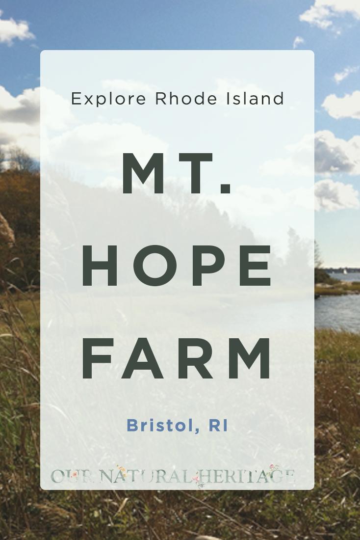 Mt. Hope Farm Bristol RI