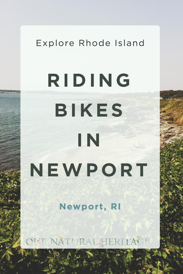 Riding Bikes in Newport