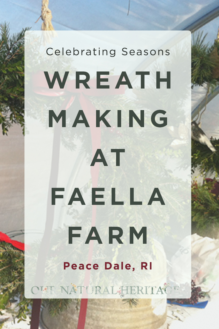 Wreath Making at Faella Farm