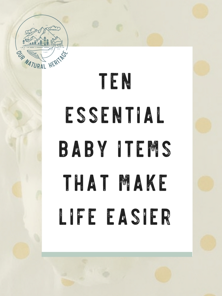 Ten Essential Baby Items That Make Life Easier - Read on to learn about essential registry items that help make the first year with a baby easier and tips for getting them for less!