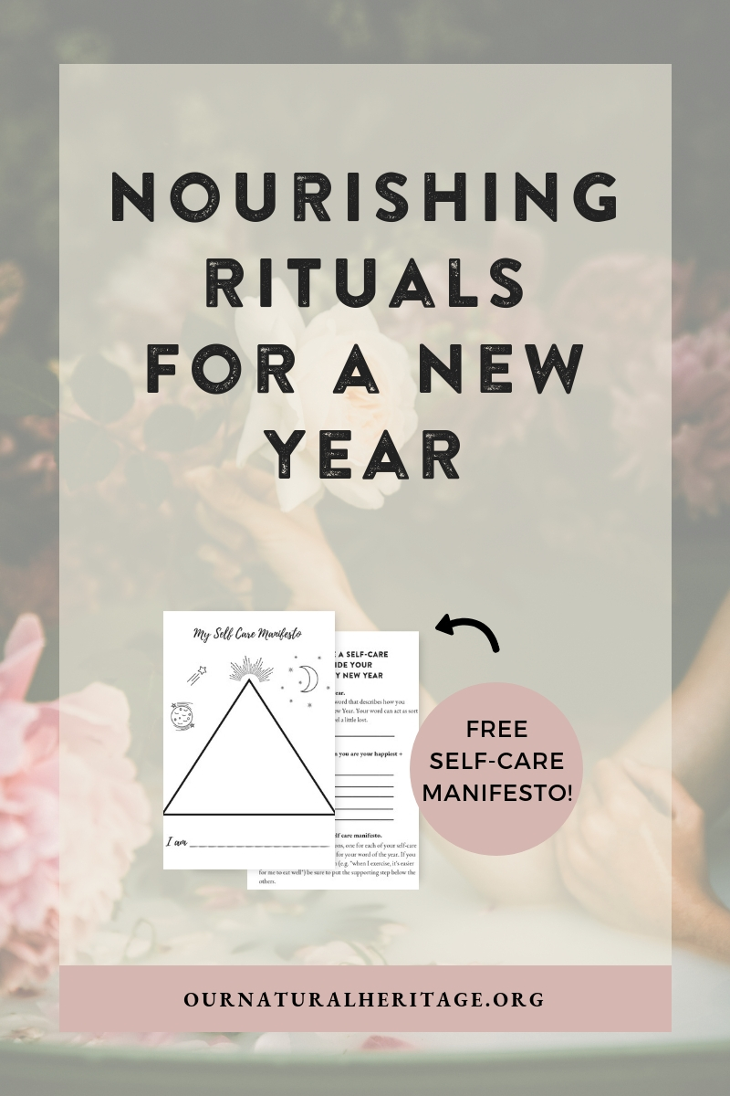 How to create a self care plan to that will guide you to a happier and healthier new year.